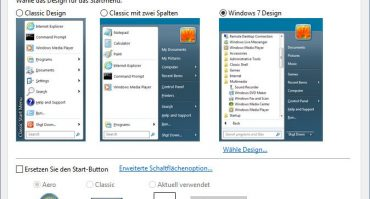 Classic Shell für Windows 8, 8.1 und Windows 10